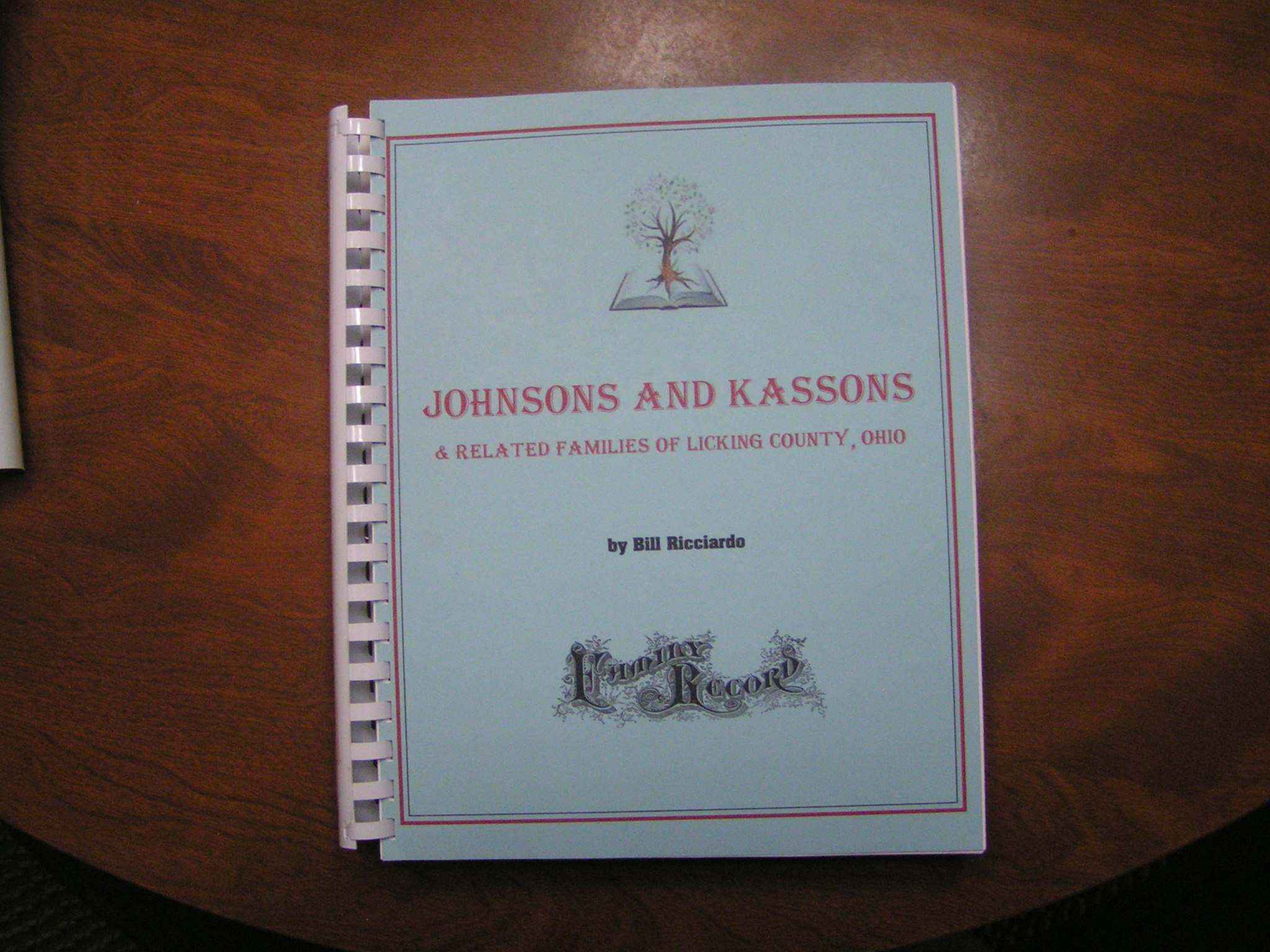 JOHNSONS and KASSONS and Related Families of Licking County, Ohio
